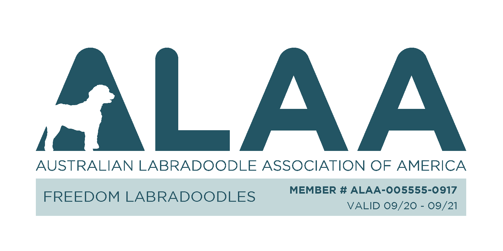 Australian Labradoodle Association of America Certification